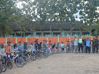 Meriahkan Idul Fitri, Komunitas Speda Dusun Beririjarak Gelar Pawai