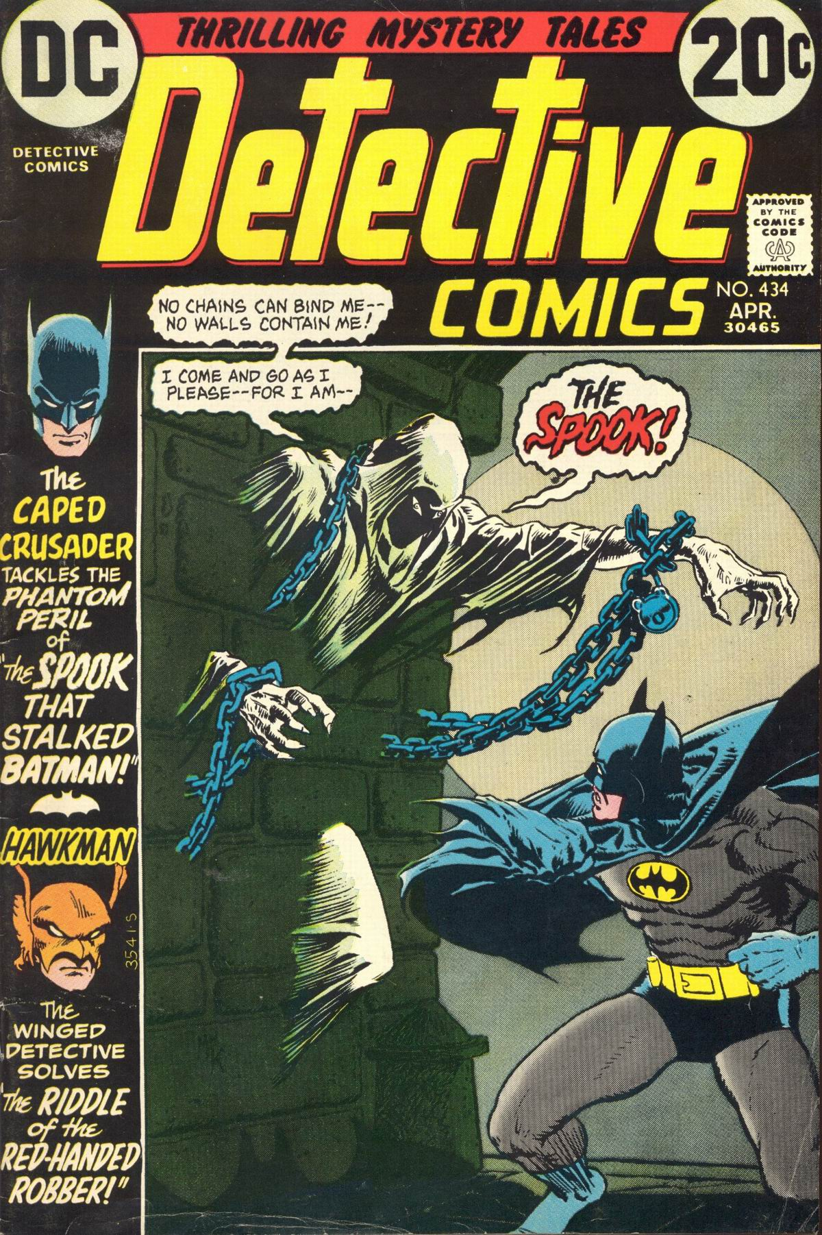 Detective Comics (1937) 434 Page 1