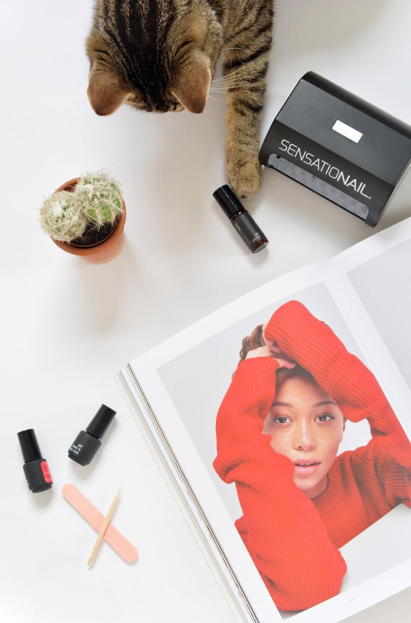 DIY gel manicure kits @burkatron