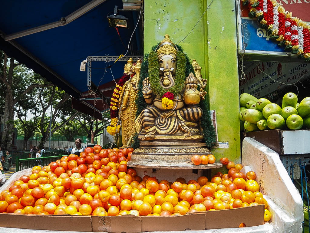 A shrine in Little India, Singapore