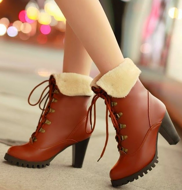 Latest Winter Shoes Collection 2015 Women Footwear Fashion
