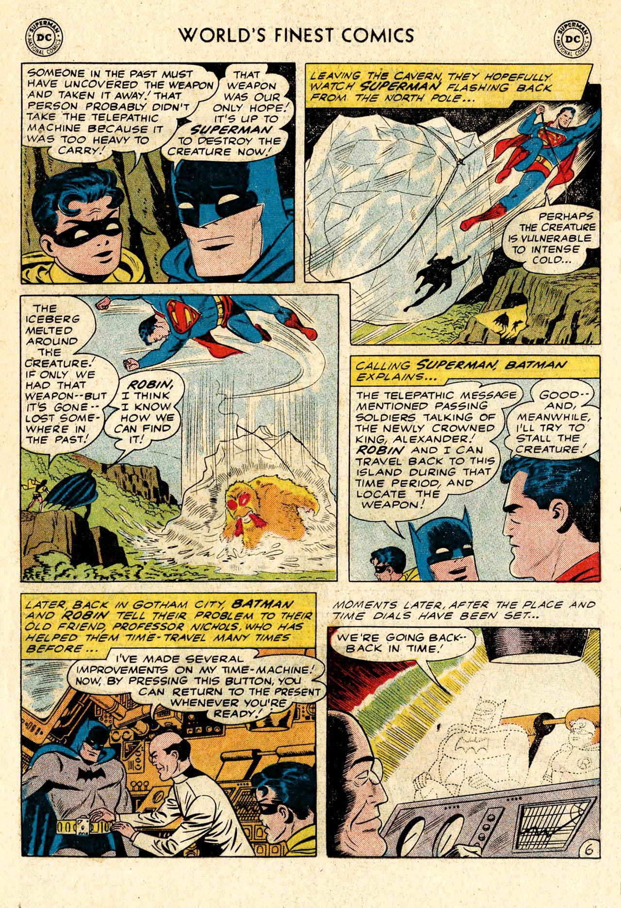 Read online World's Finest Comics comic -  Issue #107 - 8