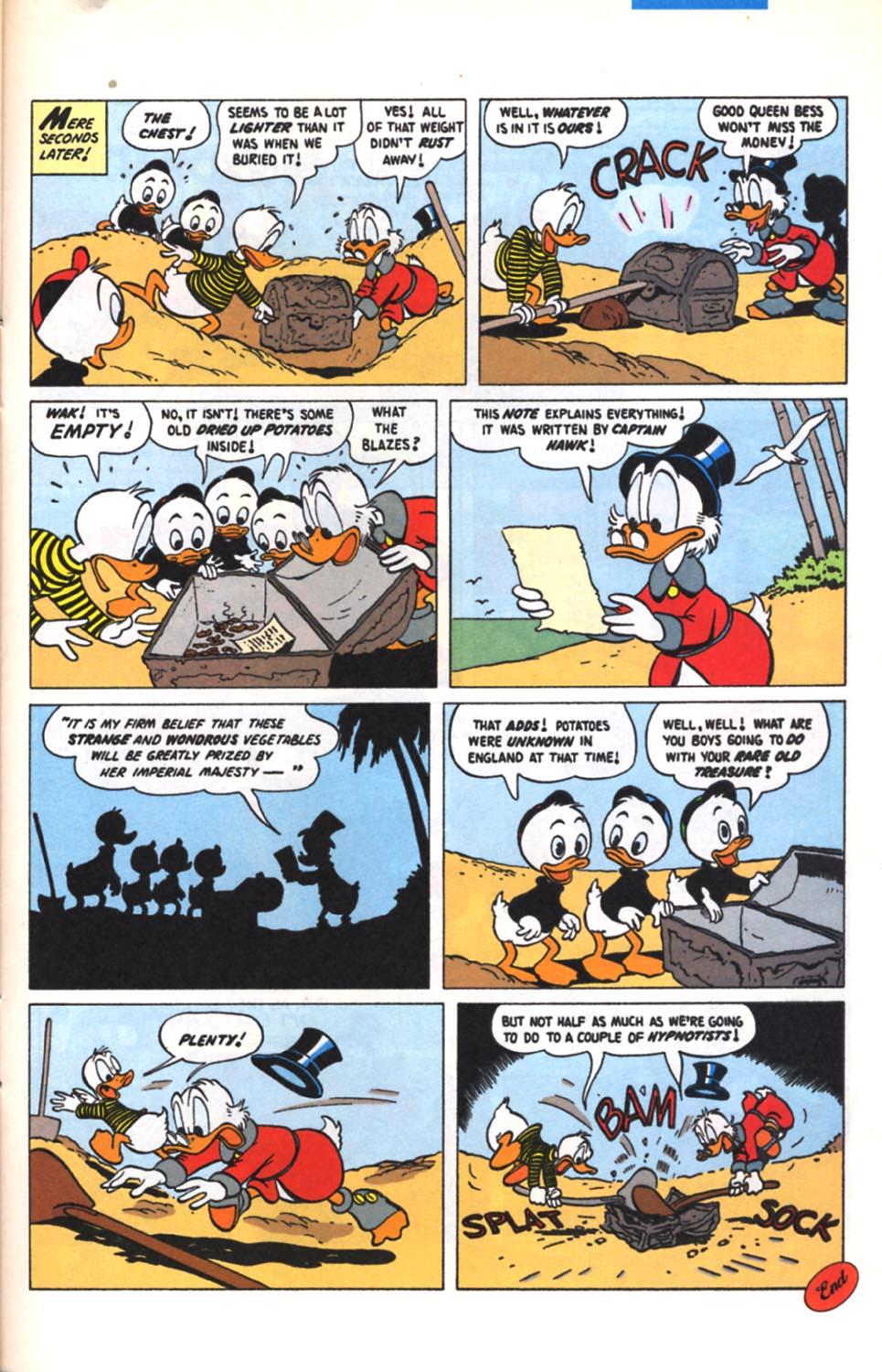 Read online Uncle Scrooge (1953) comic -  Issue #279 - 22