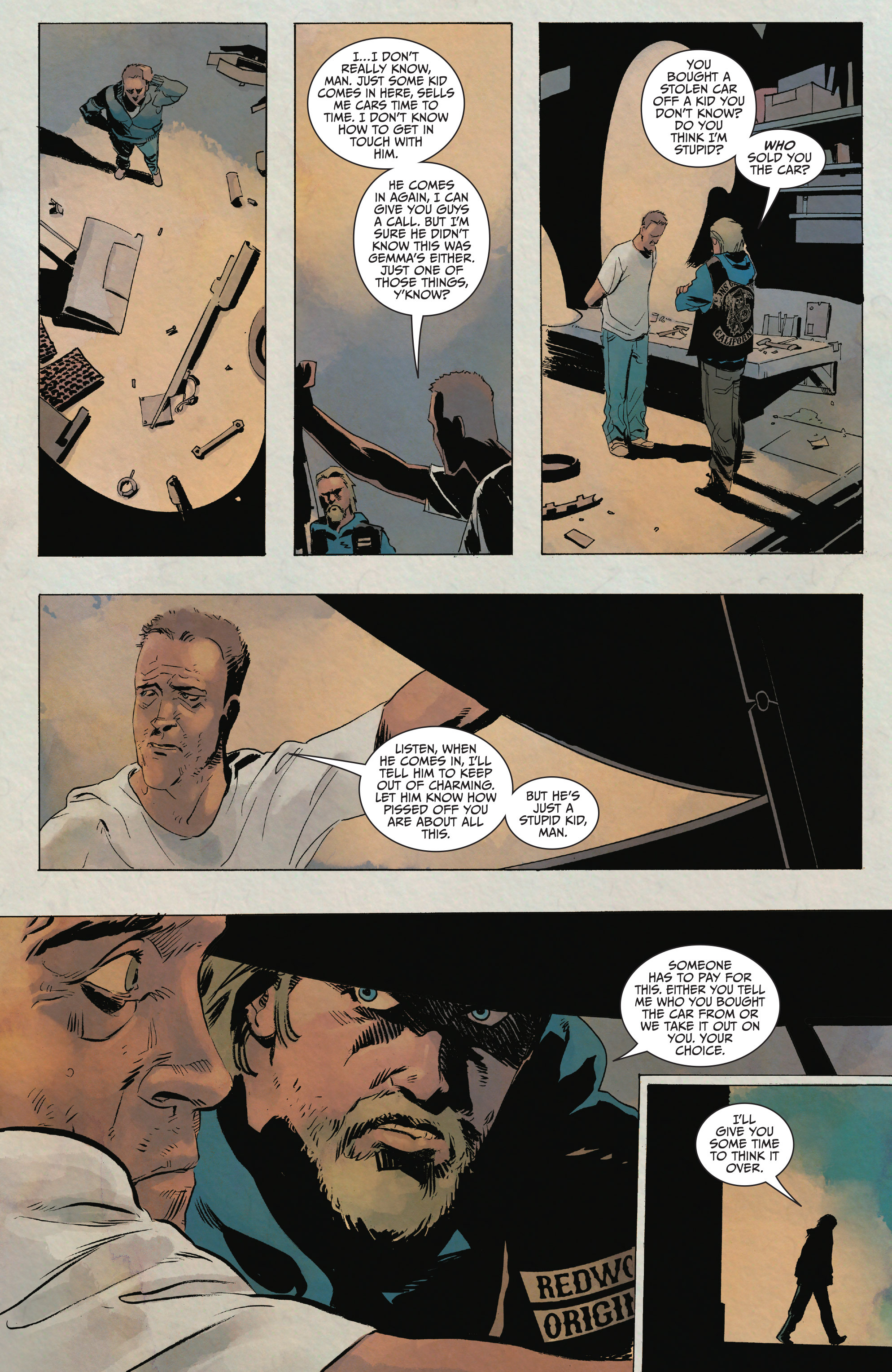 Read online Sons of Anarchy comic -  Issue #15 - 10