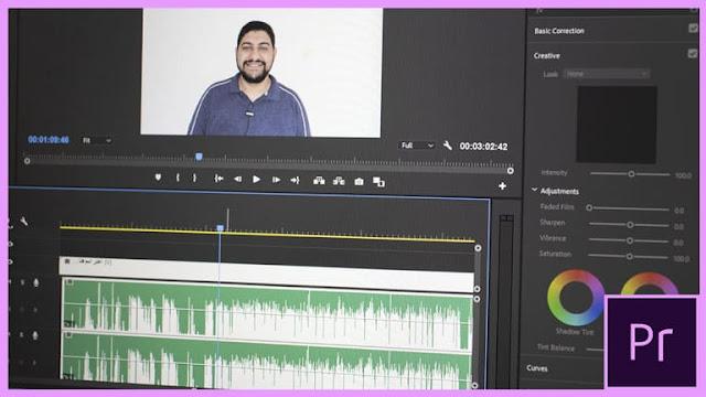 كيف مزامنة الصوت مع الفيديو علي البريمير بطريقة جديدة