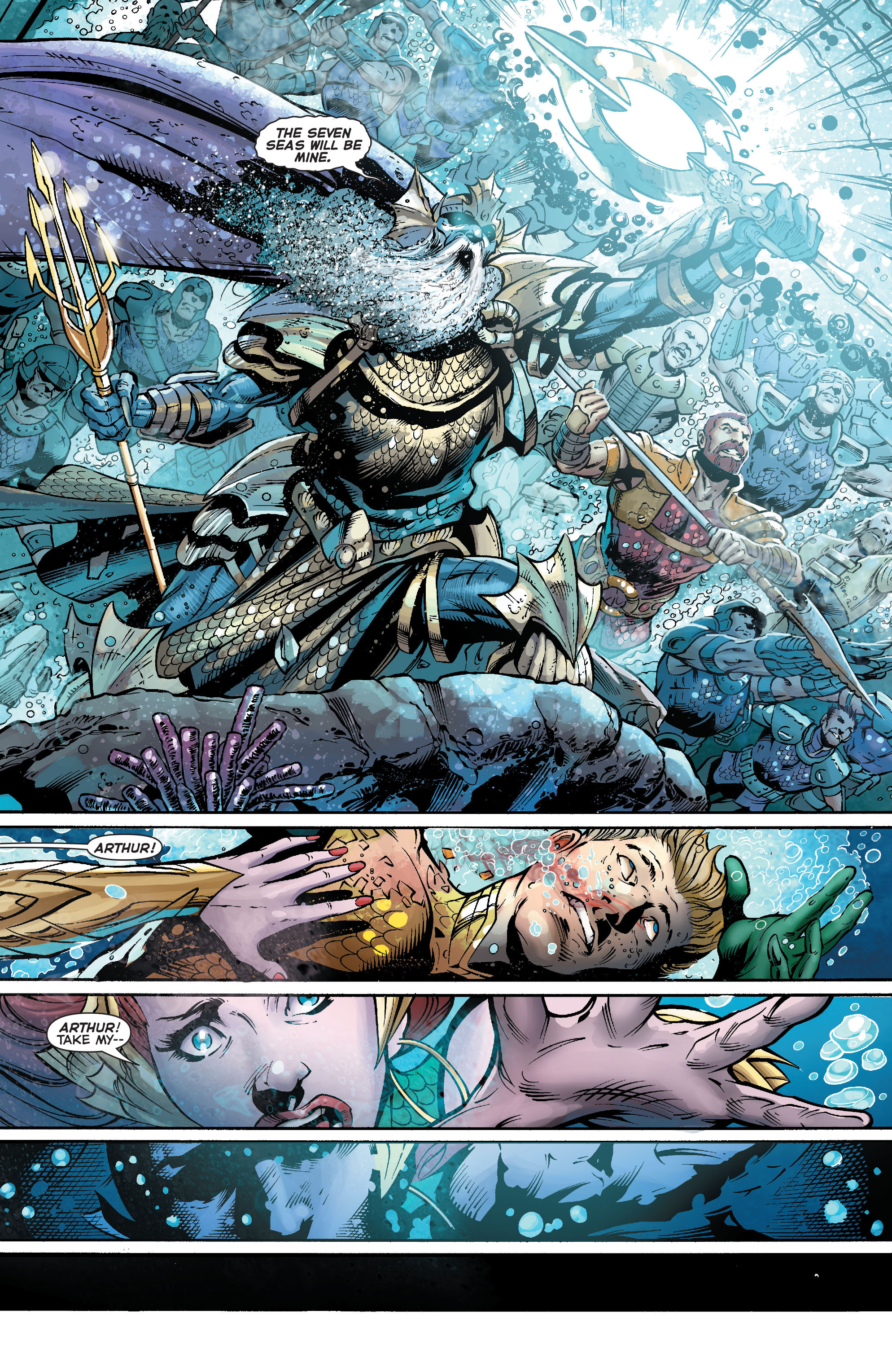 Read online Aquaman (2011) comic -  Issue #23 - 17
