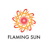 Flaming Sun by Sundari Venkatraman