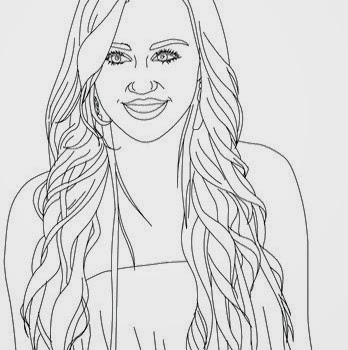 miley cyrus coloring pages printable - photo#6