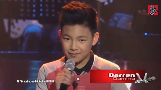 Darren Espato sings 'Domino' for 'The Voice Kids' Philippines