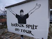 Torcida Brač Hajduk Split grafiti Splitska slike otok Brač Online