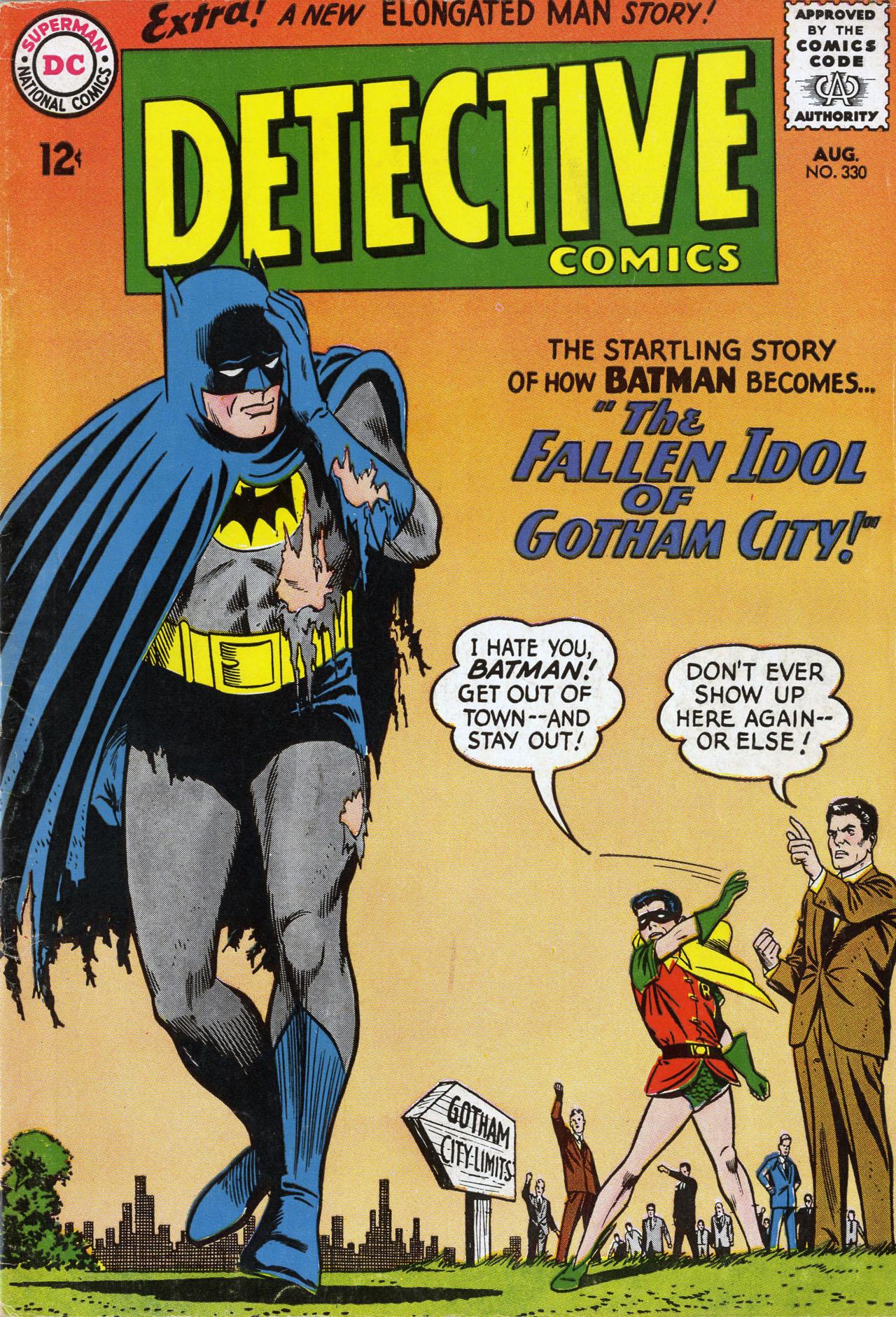 Detective Comics (1937) 330 Page 0