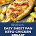 Easy Sheet Pan Keto Chicken Breast Meal Recipe