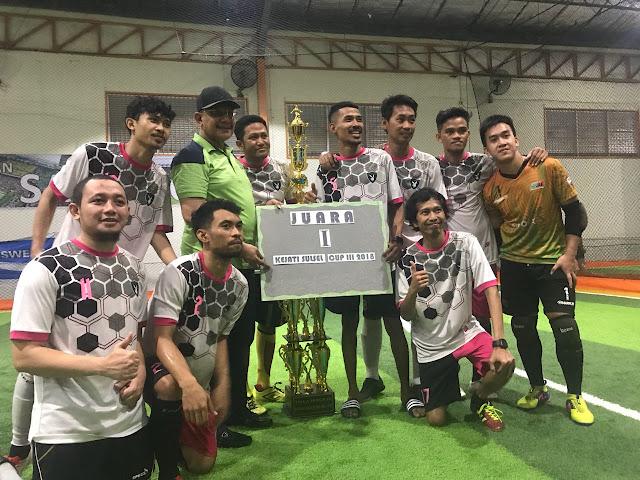 Kajati Sulsel Tutup Turnamen Futsal Kejati Cup III, TVRI Juara I, Ini Juara II dan III