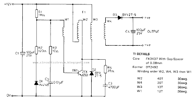 Portable Nicad Battery Charger Circuit Diagram