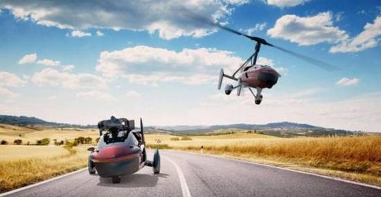 1º carro voador do mundo já pode ser seu!