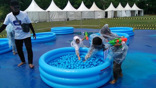 Manfaat bemain kolam bola