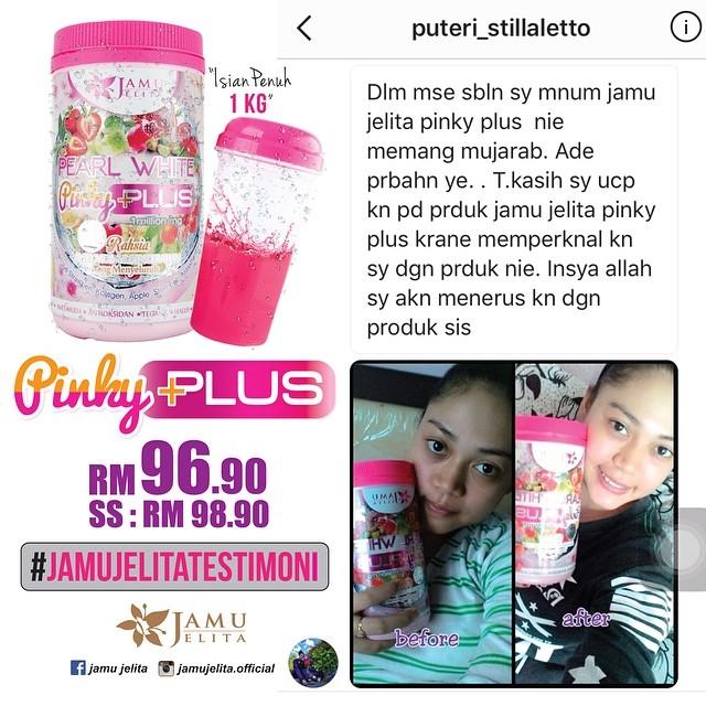 Testimoni Pearl White Pinky Plus