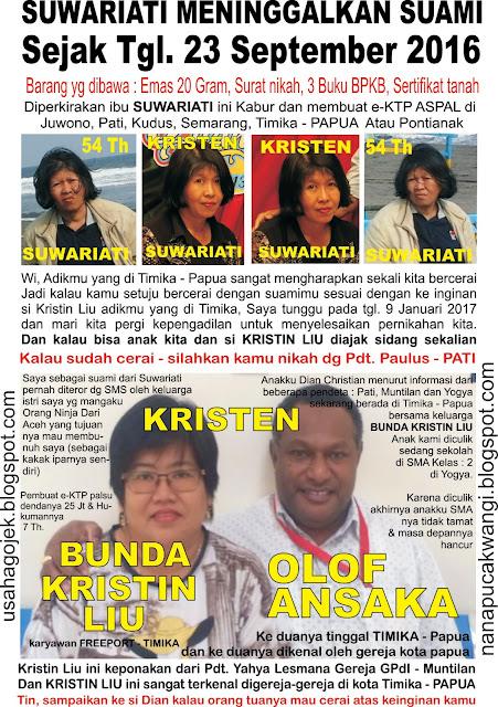 Anak Hilang, Penculikan, E-Ktp Ganda  Aspal, Istri Kabur