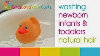 African Naturalista Washing Baby and Toddler Natural Hair