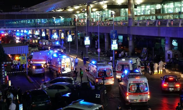 Suicide Bombers Attack Istanbul Ataturk Airport: 28 Dead, 60 Wounded