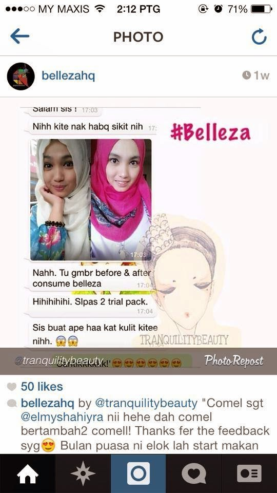 Testimoni Belleza Collagen
