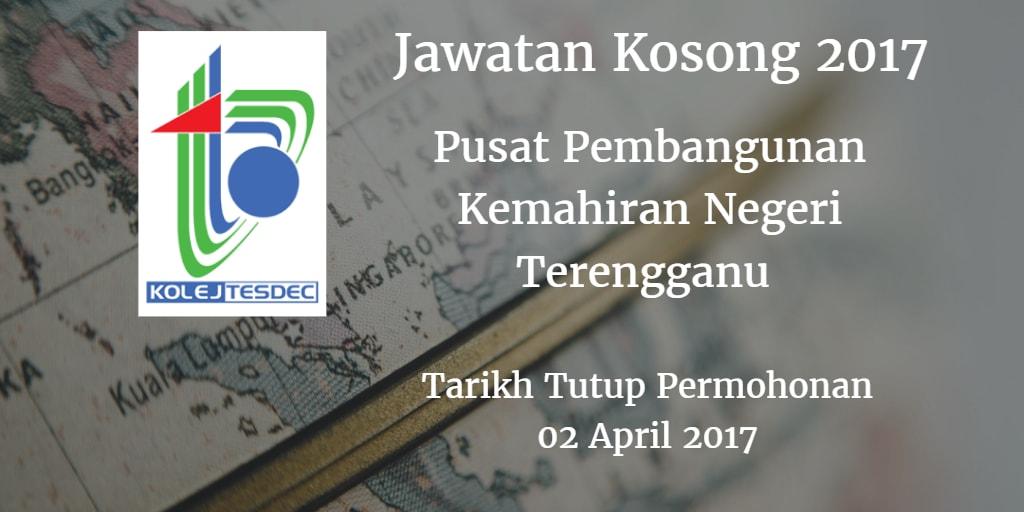Jawatan Kosong TESDEC 02 April 2017