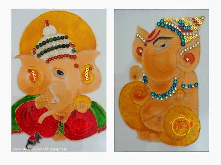 Hues n Shades: 5 Simple Drawings of Ganesha for Ganesh ...