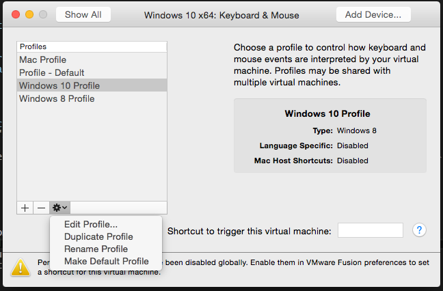 Yet Another IT Blog: Tilde key not working in VMware fusion