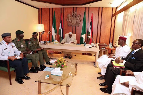 Security Meeting Aimed At Ending Challenges – Buhari