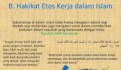 Etos Kerja Islam Dalam Mengelola Lembaga Pendidikan
