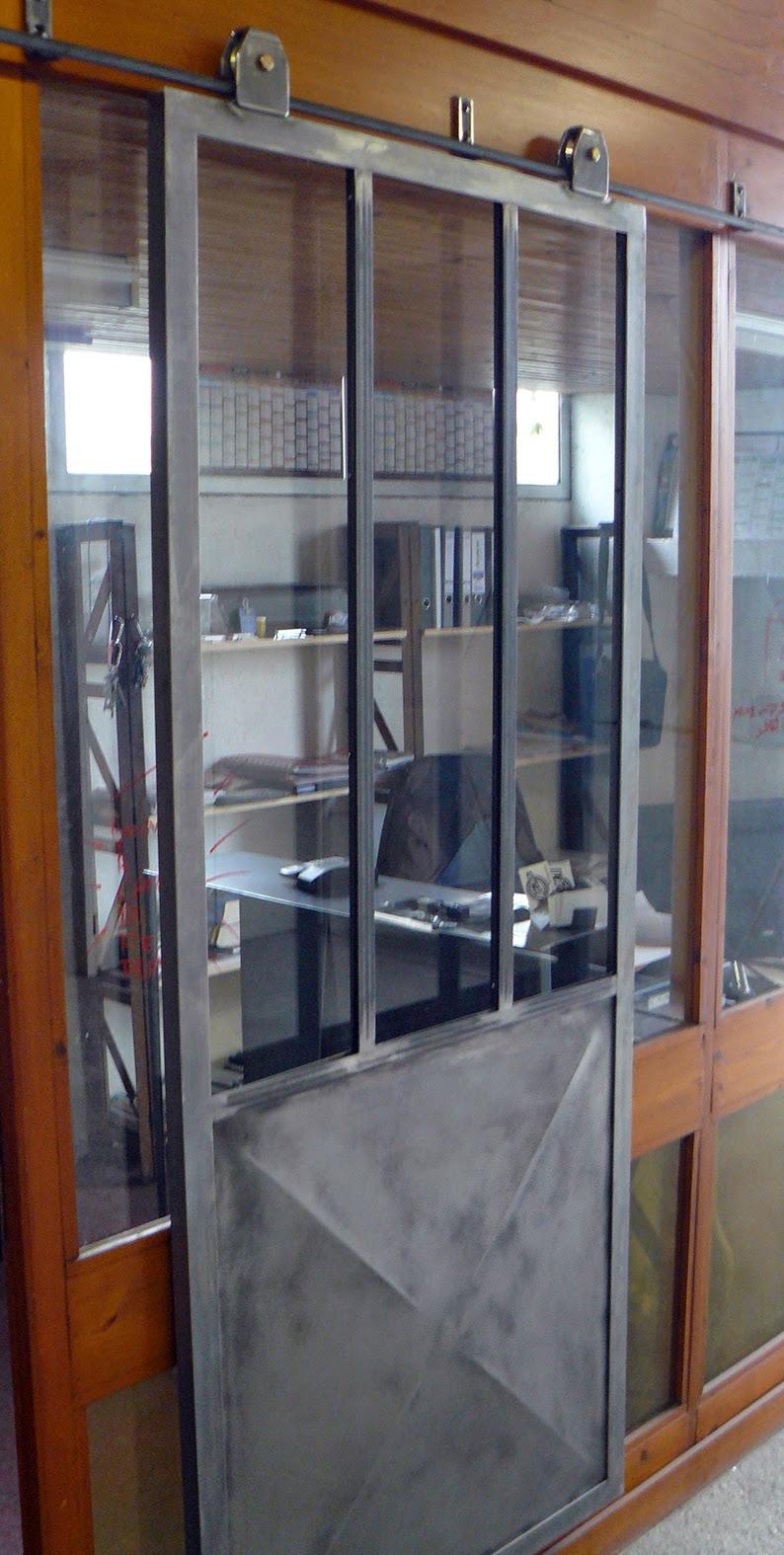 ferronnerie m tallerie serrurerie 79 deux s vres l 39 art du fer play porte style atelier. Black Bedroom Furniture Sets. Home Design Ideas