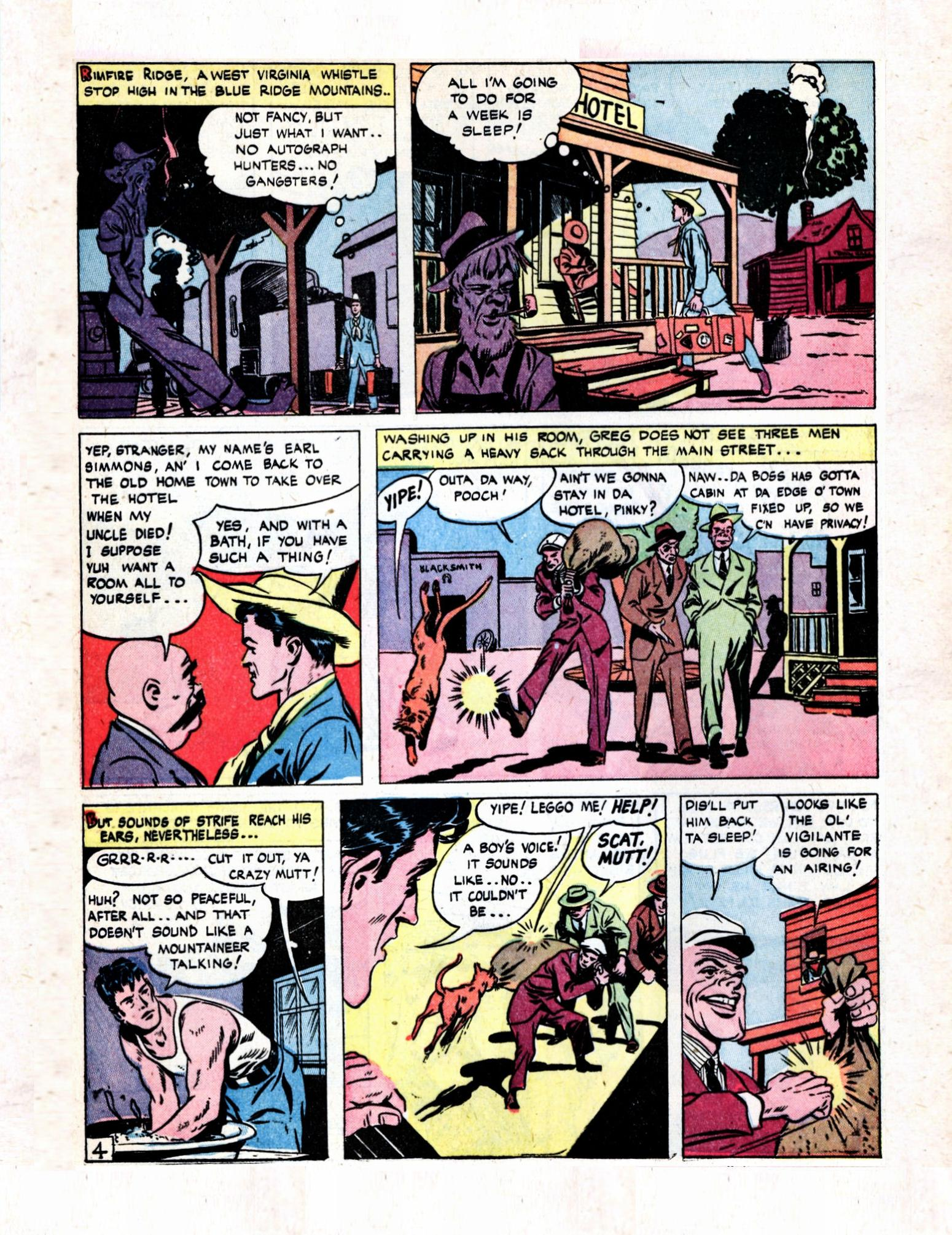 Read online Action Comics (1938) comic -  Issue #57 - 22