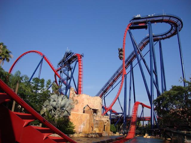 Sheikra - melhor montanha russa do Busch Gardens