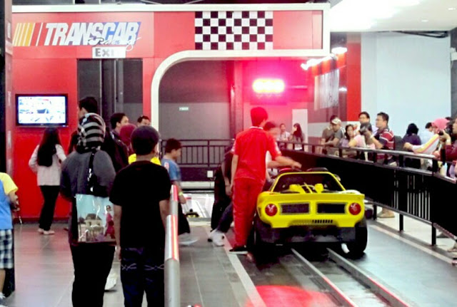 trans car racing trans studio mall