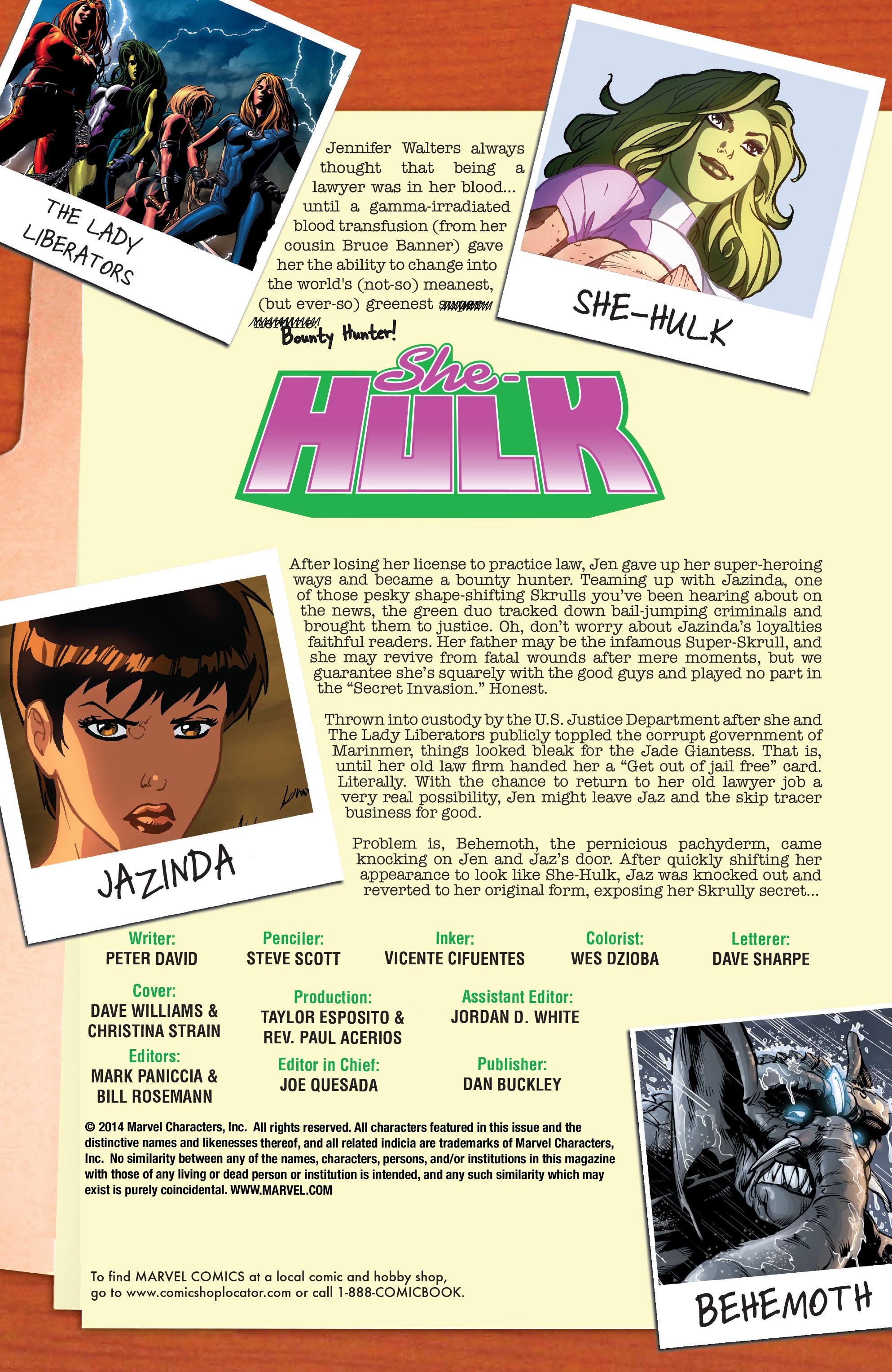 Read online She-Hulk (2005) comic -  Issue #38 - 2