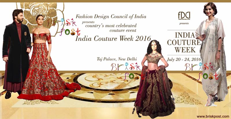 FDCI India Couture Week 2016 Runway Sparkled with Glamour and Grandeur