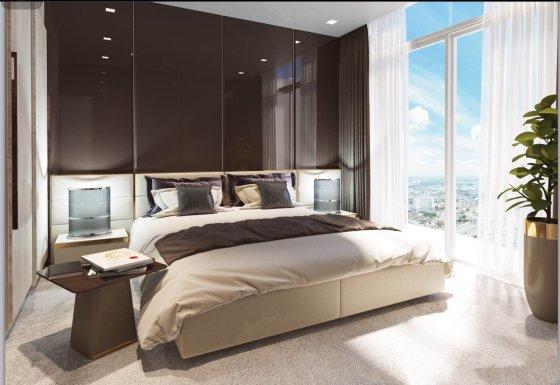 Thiết kế phòng ngủ chung cư Roman Plaza