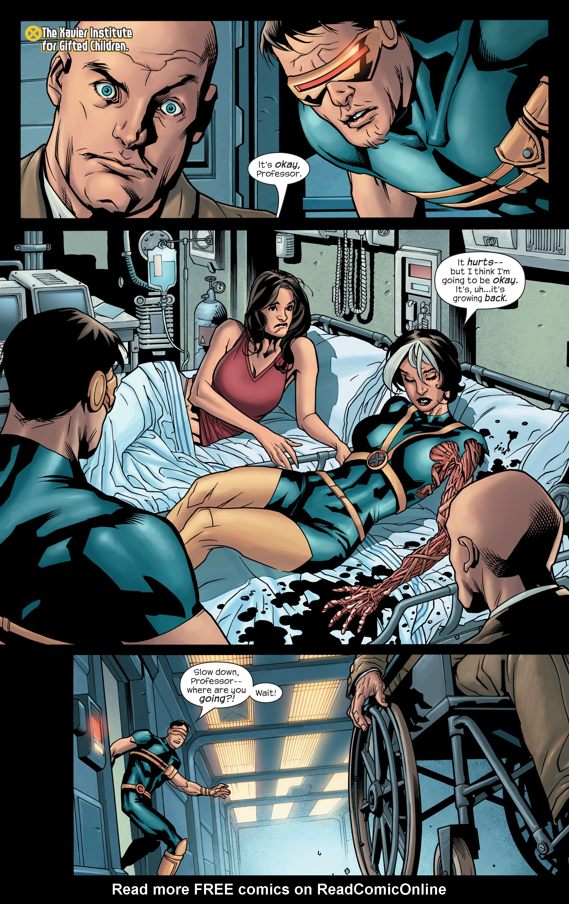 Read online Ultimate X-Men comic -  Issue #77 - 20