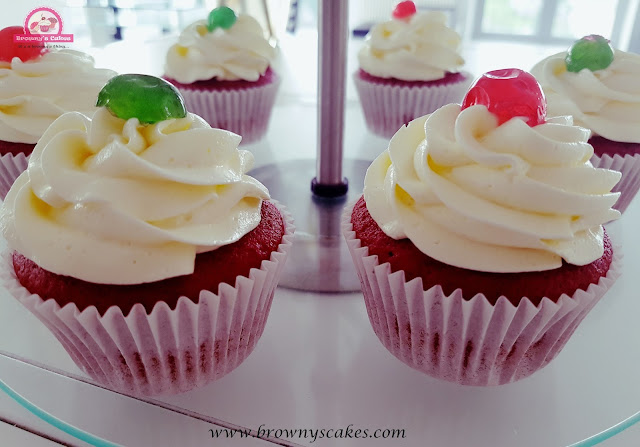 Red velvet Cupcakes - Browny's Cakes