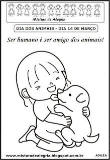 Atividade para o dia do animal
