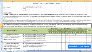 Aplikasi KKM Kurikulum 2013 Revisi 2017 Format Excel