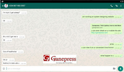 WhatsApp Chat 1