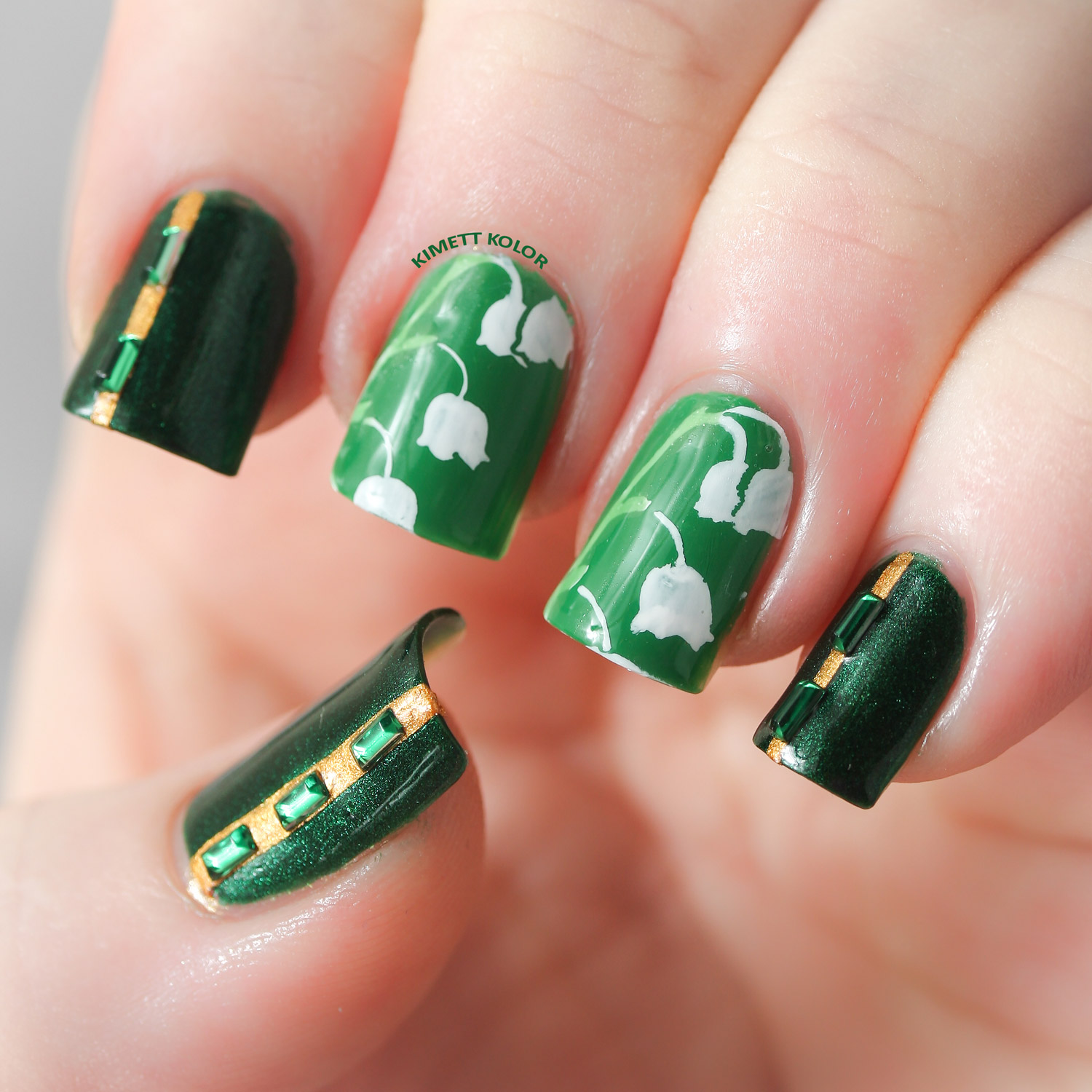 Nail Art for Every Month of the Year - Featuring Birthstones and ...