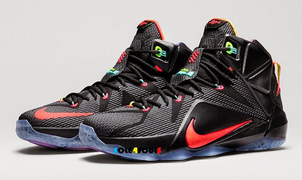Sole4Souls : Nike LeBron 12 EP Data