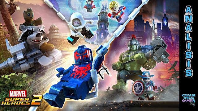 Análisis Lego Marvel Super Heroes 2