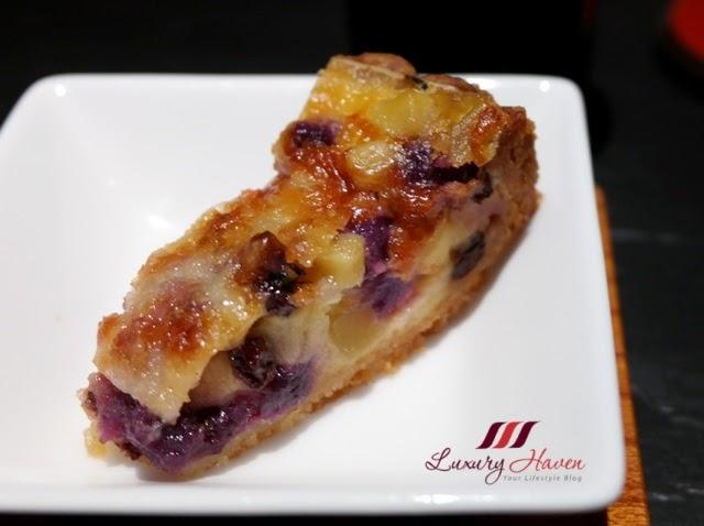 teppan yaki yamanami amuse bouche sweeet potato tart