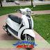 Sơn xe Nozza Grande màu trắng zin