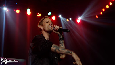 Photo Session : Aaron Carter Live in Manila