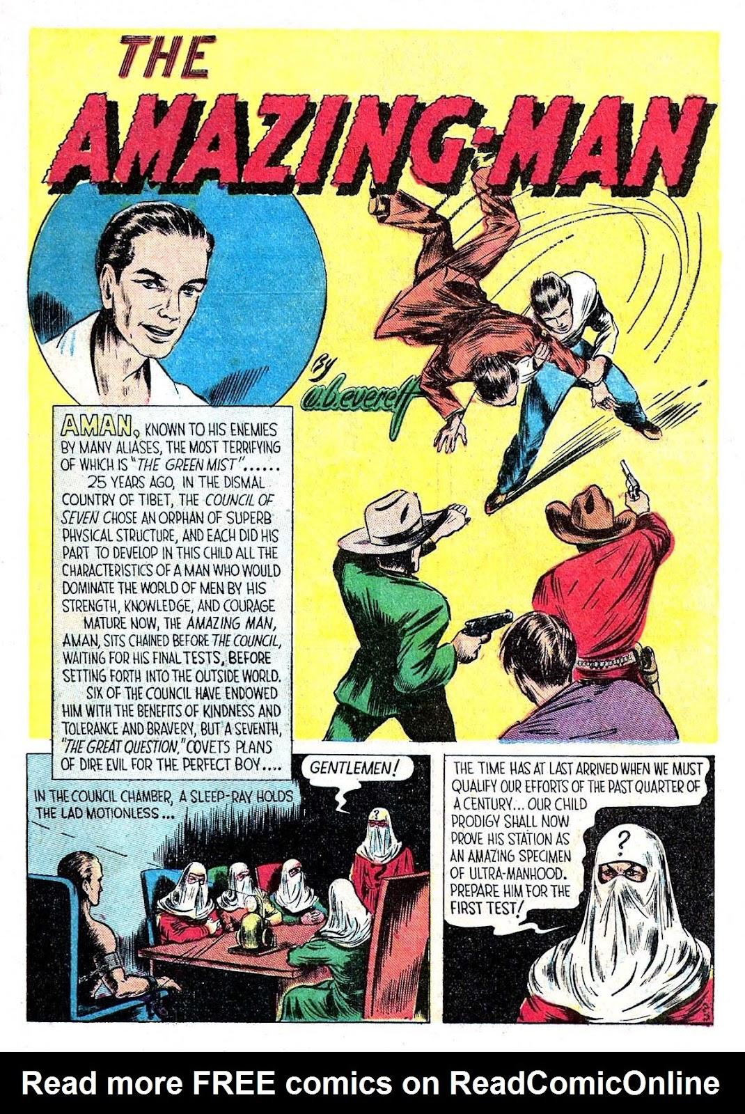Amazing Man Comics issue 5 - Page 3