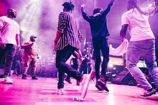 Photos: Davido And DMW Lit Up Felaboration 2018 Closing Night